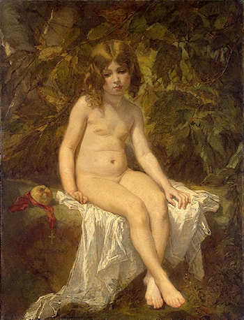 The Little Bather by Thomas Couture