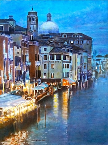 Evening in Venice by Alan Merris Bell