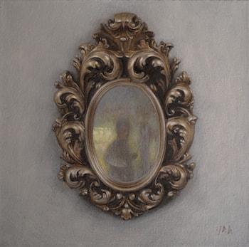 Old Mirror by Yuehua He