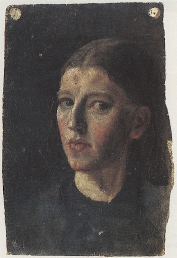 Self-Portrait by Anna Ancher