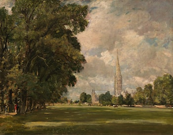 Salisbury Cathedral from Lower Marsh Close by John Constable