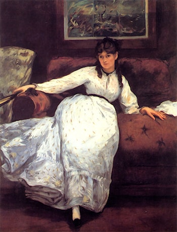 Repose by Edouard Manet