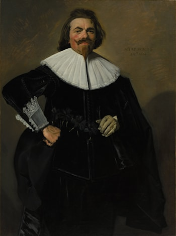 Portrait of Tieleman Roosterman by Frans Hals