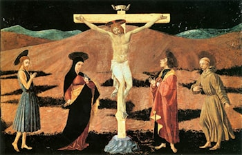 Crucifixion by Paolo Uccello