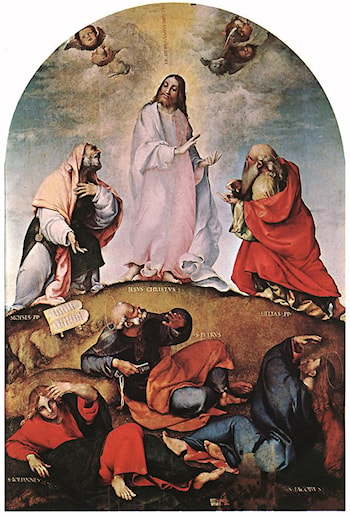 Transfiguration by Lorenzo Lotto