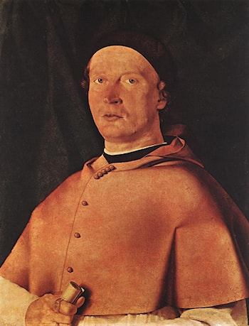 Bishop Bernardo de Rossi by Lorenzo Lotto