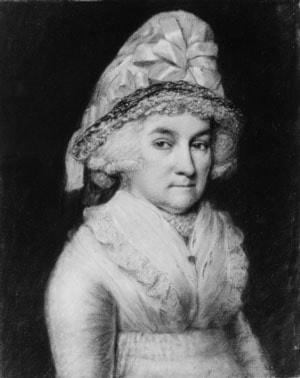 Abigail Smith Adams by James Sharples