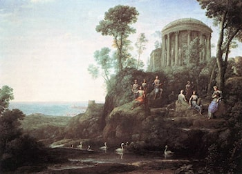 Apollo and the Muses on Mount Helion by Claude Lorrain