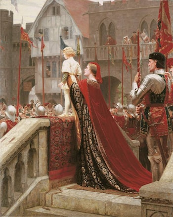 Vox Populi by Edmund Blair Leighton