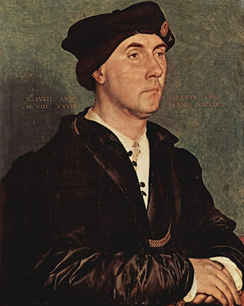 Sir Richard Southwell by Hans Holbein