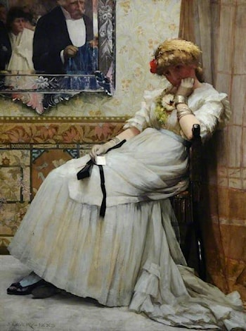 After the Dance by John Lavery