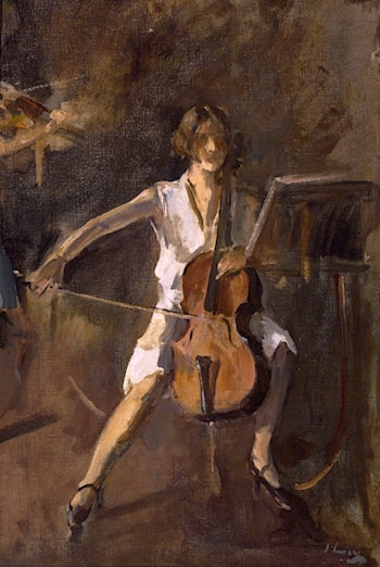 The Cello Player by John Lavery
