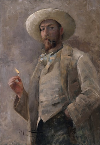 Gaines Ruger Donoho by John Lavery