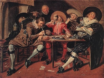 Merry Party in a Tavern by Dirck Hals
