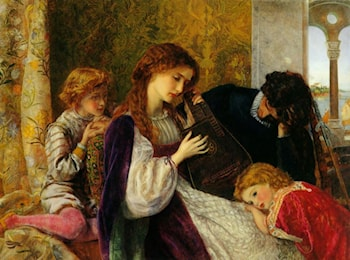 A Music Party by Arthur Hughes