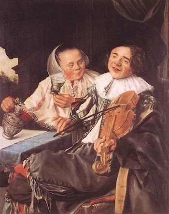 Carousing Couple by Judith Leyster