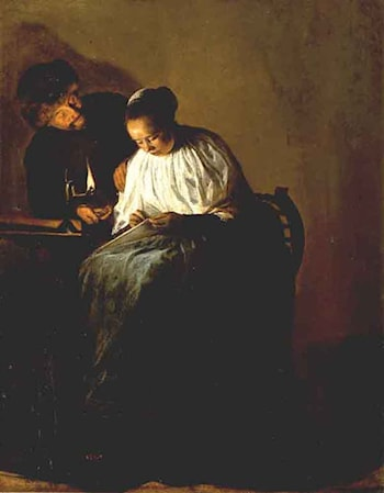 The Proposition by Judith Leyster