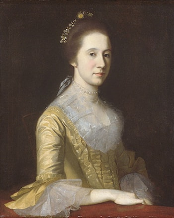 Margaret Strachan (Mrs. Thomas Harwood) by Charles Willson Peale