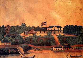 First Government House, Syndey by John Eyre