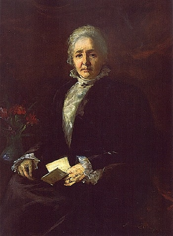 Portrait of Mary Copley Thaw by Anna Klumpke
