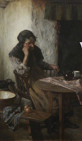 When One is Old by Walter Langley